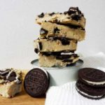 cookie and cream blondie