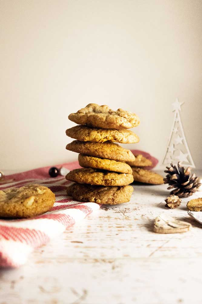 vegan walnut cookies
