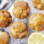 vegan gluten-free lemon muffins