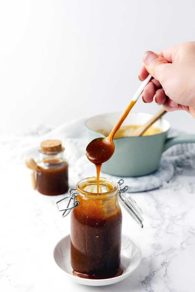 vegan caramel sauce